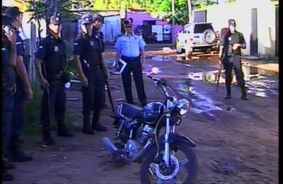 En Trinidad se realiza allanamiento por el asesinato de guardia de seguridad