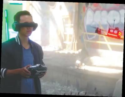 Carrera de drones, el nuevo deporte extremo