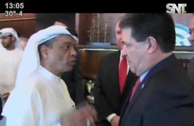 Presidente Cartes se encuentra en Dubai
