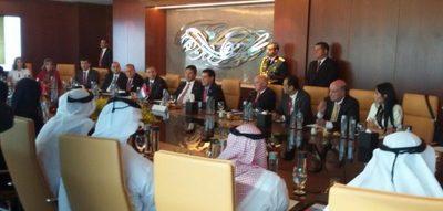 A fin de captar inversiones, Cartes presentó en Dubái oportunidades que ofrece Paraguay