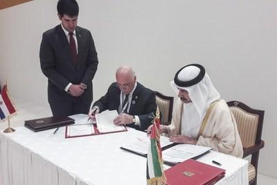 Apertura a alto nivel de Paraguay para ser socio de los EAU