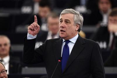Conservador Tajani, elegido presidente de la Eurocámara