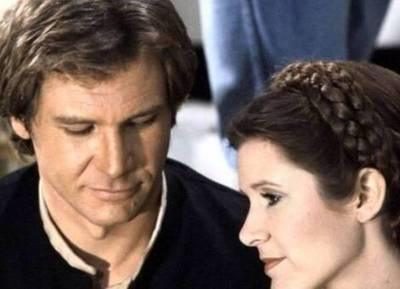 La actriz de Star Wars blanqueó romance con Harrison Ford