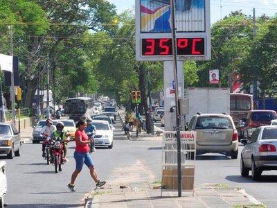 Pronostican mucho calor para este miércoles