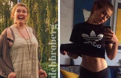 Esta chica perdió 60 kilos solo engañando a su cerebro de esta simple forma