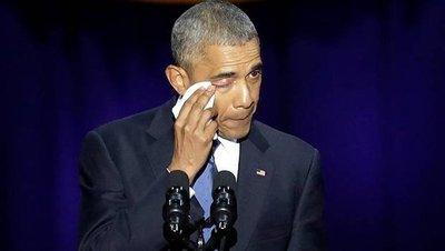 Obama recordó el hecho que marcó sus años de mandato