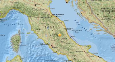 Varios sismos sacuden el centro de Italia; evacuan el metro de Roma