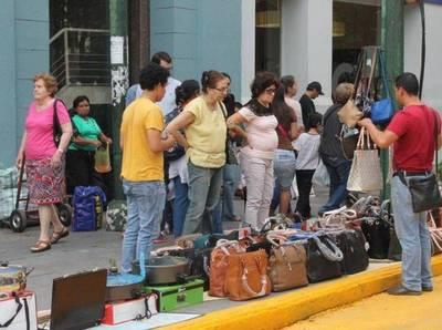 Impune venta informal convirtió a Palma en el Mercado 4