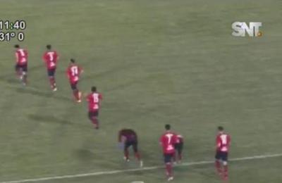 Cerro Porteño gana con gol de Haedo Valdés
