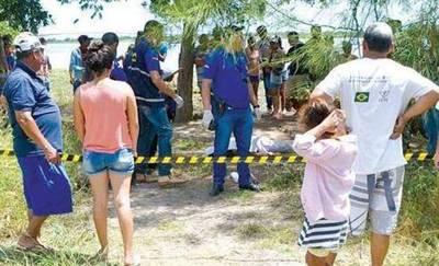 Investigan muerte de joven hallado a orillas del río