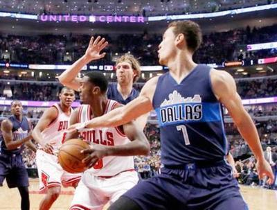 Tremenda victoria de Mavericks en casa de los Bulls