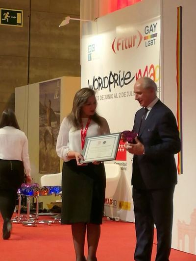 """Paraguay recibe """"Premio Excelencias"""" por el servicio de las Posadas Turísticas"""