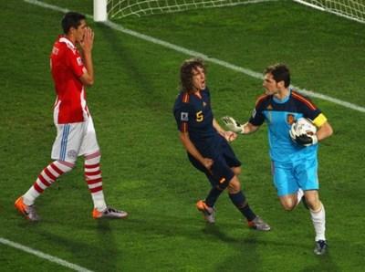 Casillas se acordó de Paraguay del 2010