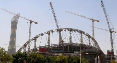 Qatar 2022: Muere otro obrero en estadio en construcción