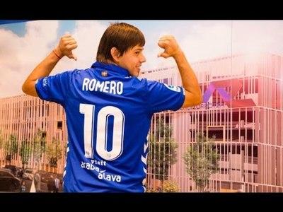 Óscar Romero, el nuevo 10 del Alavés