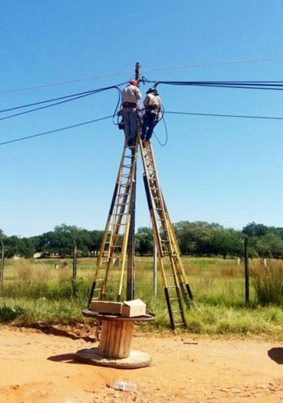 Perjuicios de US$ 400.000 a Copaco por robo de cables de alta densidad