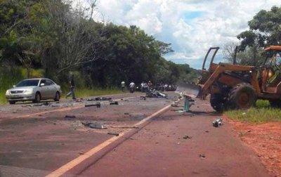 Muere en un accidente el mandante del apriete policial a Tanya Villalba