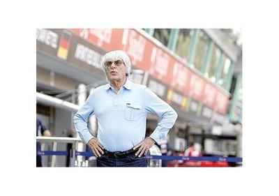 Bernie Ecclestone  dejó la F 1