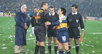 Chilavert oipiro jeyma a Diego Maradona