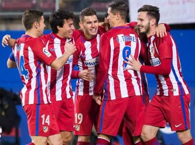 Atlético Madrid es semifinalista de la Copa del Rey