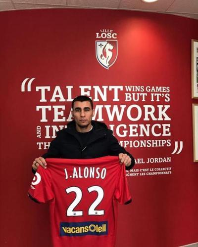 Alonso fue presentado en el Lille de Francia