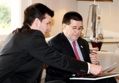 Presidente con actividades en Mburuvicha Róga