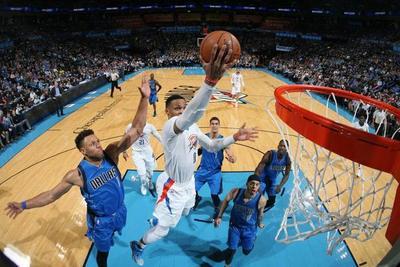 NBA: Westbrook sigue imparable y OKC vence a Dallas