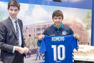 Óscar Romero podría debutar ante el Atlético