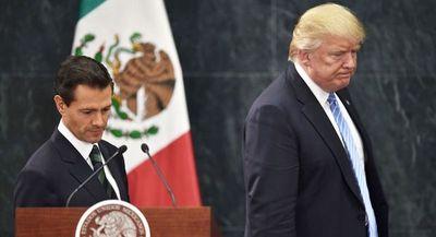 Trump y Peña Nieto acordaron no hablar del muro