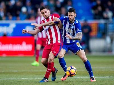 Alavés le perdonó al Atlético Madrid