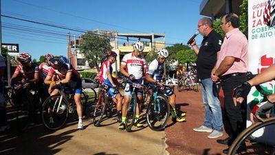Cierran segunda etapa de la Vuelta Ciclística Alto Paraná-Caaguazú-Cnel. Oviedo