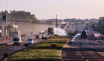 Gobierno incorpora dos nuevos viaductos en la ruta Mariano Roque Alonso- Limpio