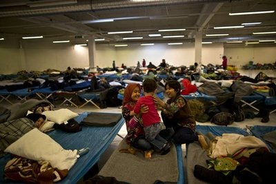 Alemania sufrió  970 ataques contra centros de refugiados