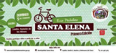Conocé en bicicleta a la ciudad de Santa Elena
