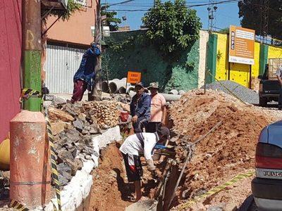 En plena ejecución las mejoras del barrio San Jerónimo
