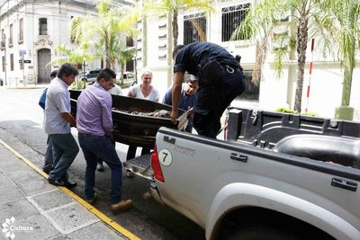Féretro del Gral. José Eduvigis Díaz fue trasladado a Pirayú