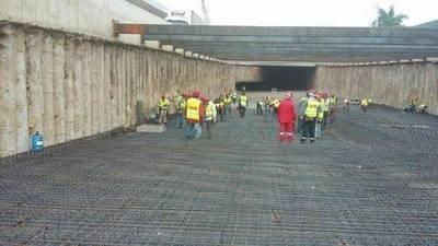 Superviaducto: Cerrarán tráfico para izar las vigas