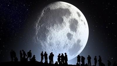 La Luna de la Nieve vendrá acompañada por el cometa azul
