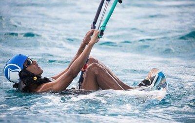 Obama disfruta del Caribe lejos de la Casa Blanca
