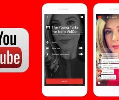 YouTube lanza su servicio de transmisión en vivo