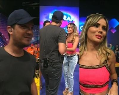Ida y vuelta entre Junior Rodríguez y Dahiana Bresanovich
