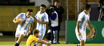 Sub 20: Argentina consigue agónico empate ante Brasil