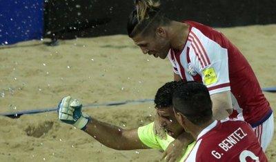 Paraguay golea a Uruguay y se mete en semifinales