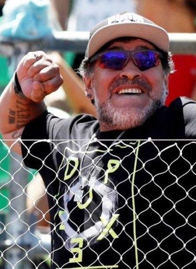 Maradona ahora es embajador de FIFA