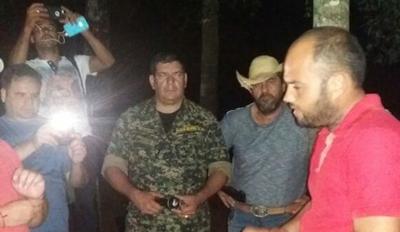 Acorralados por la Policía, liberan a ganadero secuestrado