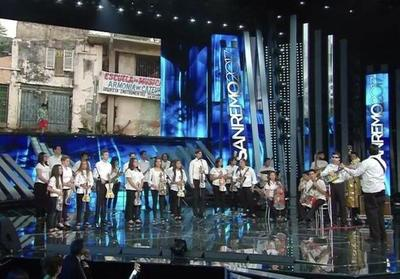 La Orquesta de Cateura brilló en el Festival de San Remo