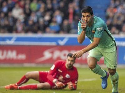 Barcelona aplastó al Alavés de Óscar Romero