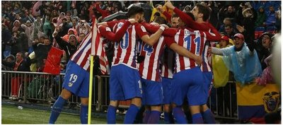 Atlético de Madrid lo da vuelta y logra agónico triunfo ante Celta