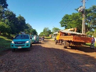 Retiran 33 conexiones clandestinas en O'Leary