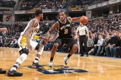 NBA: Leonard guía magistralmente a los Spurs